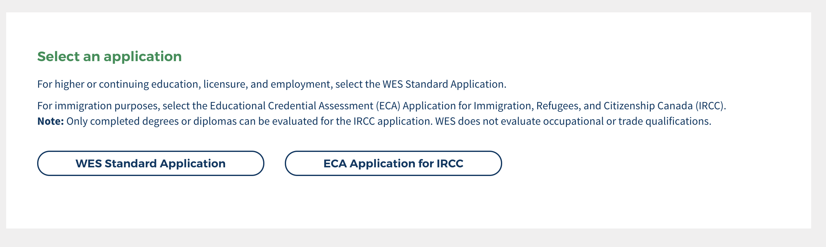Education Credentials Evaluation (WES) – Immigration help